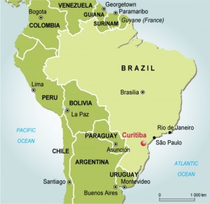 curitiba location1 300x2911 Brazil Outsourcing: Curitiba Comes On Strong as Silicon Valley South