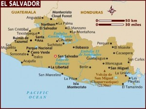 map of el salvador1 300x2251 El Salvador Journal: A First Hand Reaction from the Experts