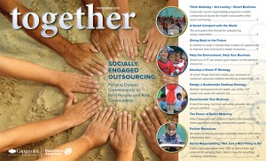 together opening page 300x1821 How One Outsourcing Company Is Giving Back