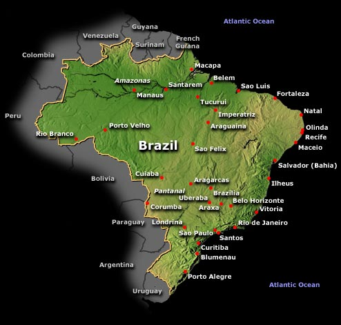A Deep Dive into Brazil's Secondary Cities: Scoping Out