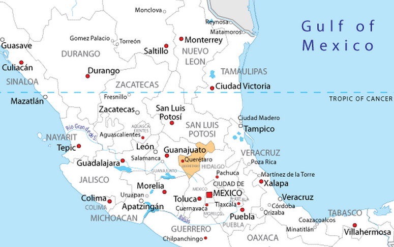 Mexico_map_queretaro
