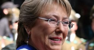 Bachelet Wins First Round but Falls Short of Winning Presidency