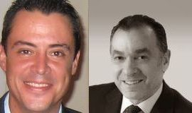Robert Wolf, CEO, EX2 Outcoding, and Freddy Fachler, partner, Pacheco Coto.