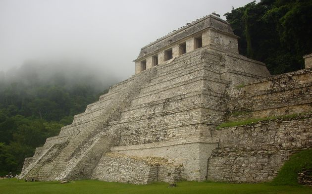 We recommend stopping off at the Mayan ruins of Palenque before crossing from Mexico into Guatemala.