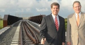 US-Mexico International Railway Nears Completion
