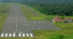 The existing airport in Limon cannot handle international air traffic.