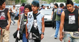 Youths in Mexico City