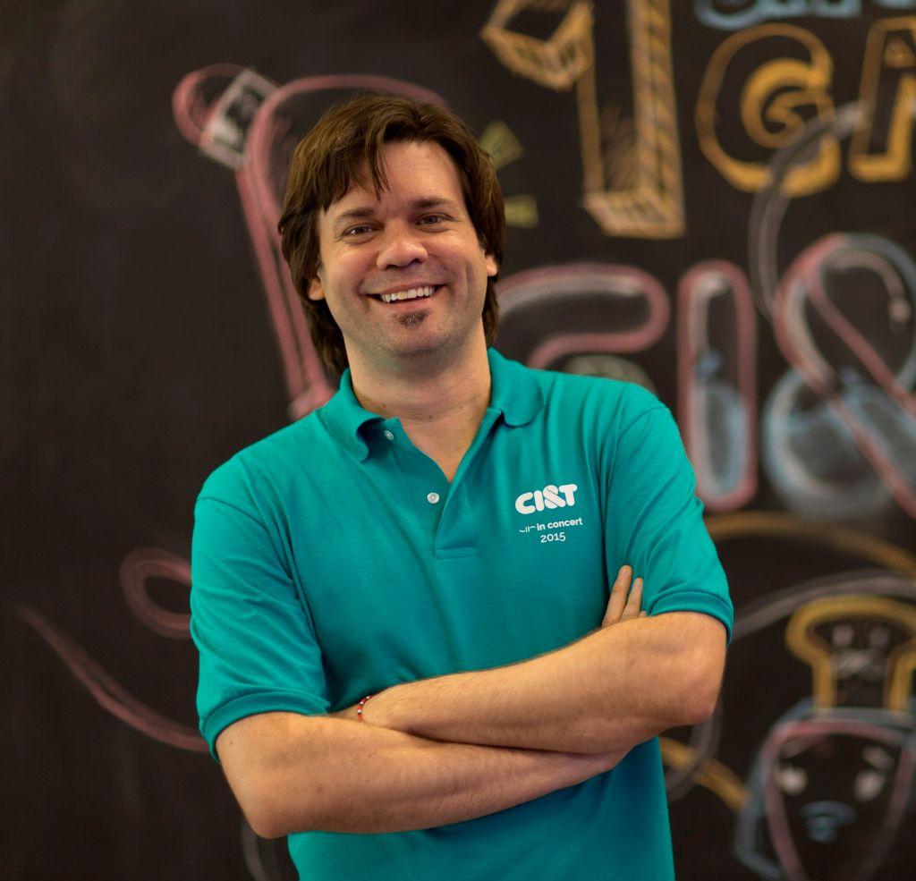 Leonardo Mattiazzi, vice president of Innovation at CI&T