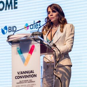Ninoshka Linde of AGEXPORT in Guatemala