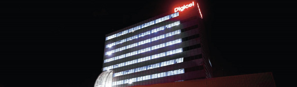 Digicel's Haitian offices in Port-au-Prince stood tall during the 2010 earthquake, which destroyed surrounding buildings