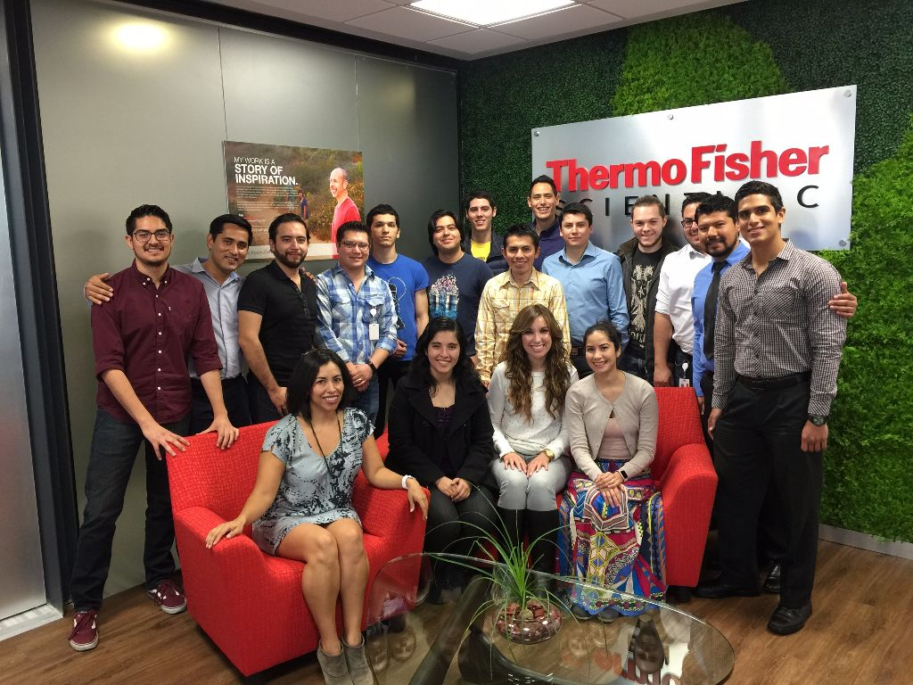 Thermo Fisher team Tijuana