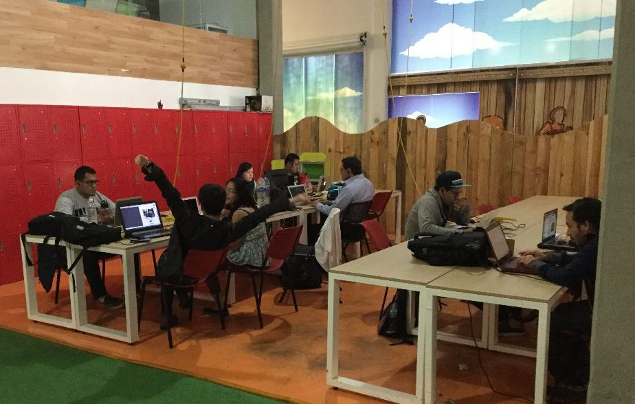 startup mexico co-working space
