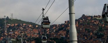Medellin cable train