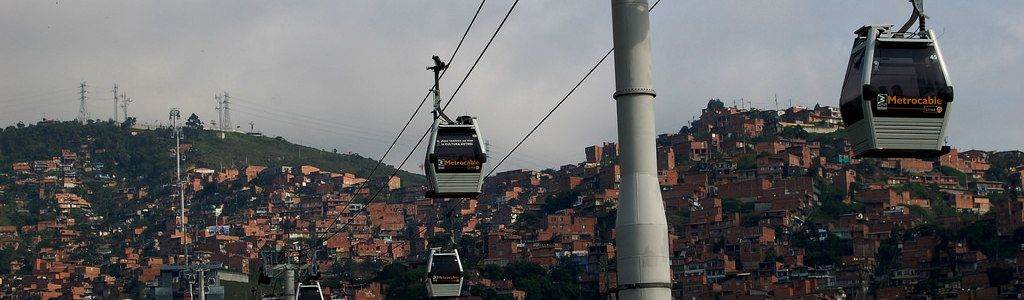 Medellin cable train