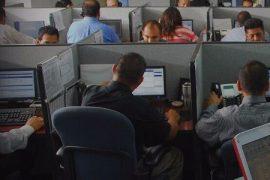 mexico call center political pressure