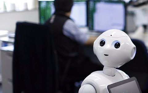 rpa robots call center