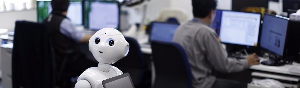 rpa robots call center