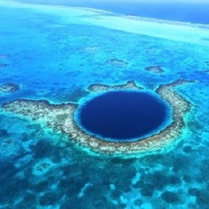 scuba diving sites great blue hole belize