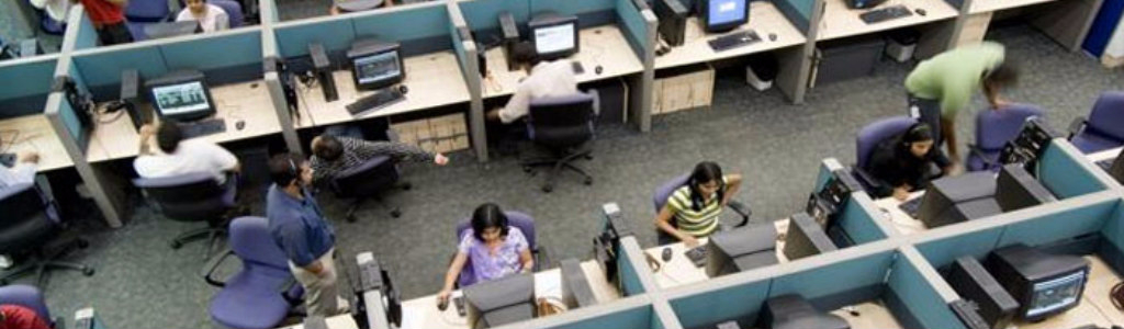 Indian call center agents