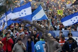 honduras protests