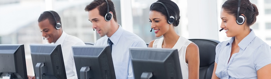 call center agents self-service