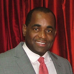 Roosevelt Skerrit PM of Dominica