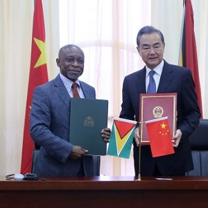 guyana and china broadband
