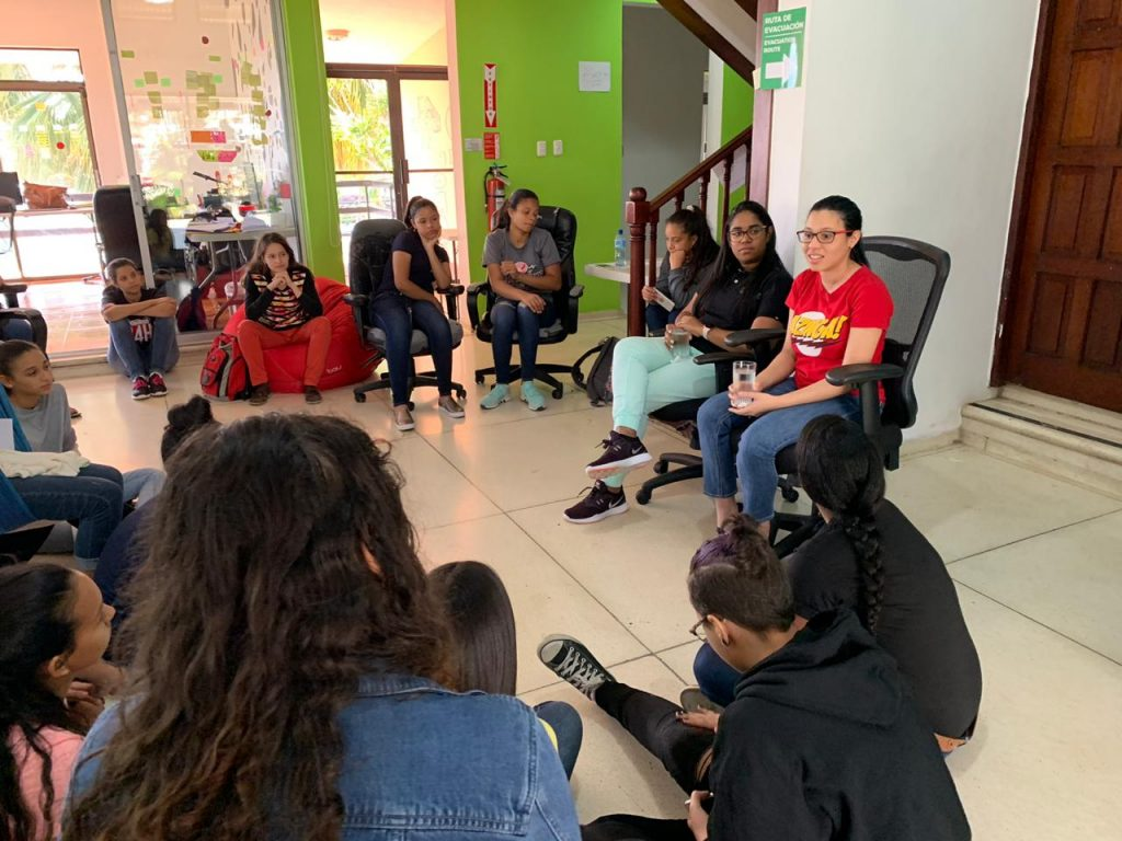 Seeing other women in developer roles is important to inspiring the next generation of female tech talent