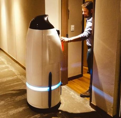 Meet Thalon, Colombia's Room Service Robot