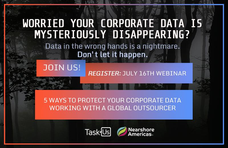 TaskUs Webinar banner